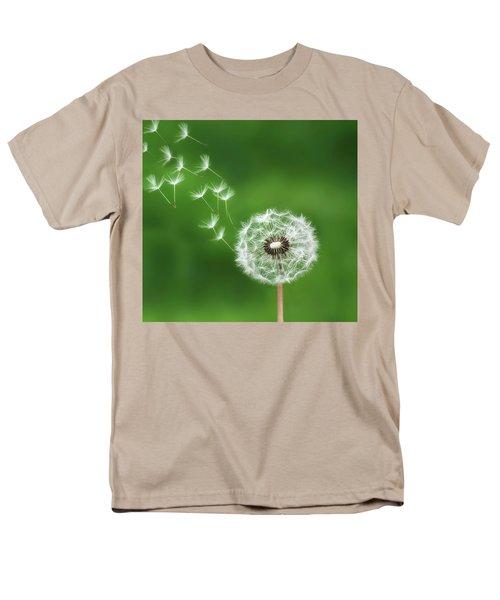 Men's T-Shirt  (Regular Fit) featuring the photograph Dandelion by Bess Hamiti