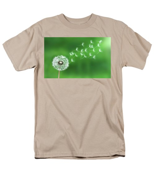 Dandelion Seeds Men's T-Shirt  (Regular Fit) by Bess Hamiti