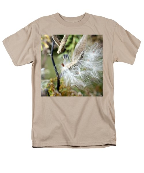 Flight Of The Milkweed Men's T-Shirt  (Regular Fit) by Lauren Radke