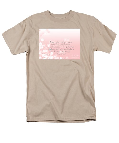 Men's T-Shirt  (Regular Fit) featuring the digital art Friendship by Trilby Cole