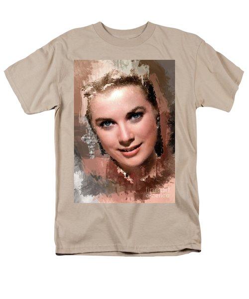 Grace Kelly, Vintage Hollywood Actress Men's T-Shirt  (Regular Fit) by Mary Bassett