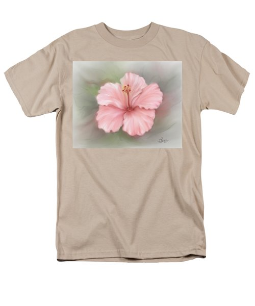 Hibiscus  Men's T-Shirt  (Regular Fit) by Bonnie Willis