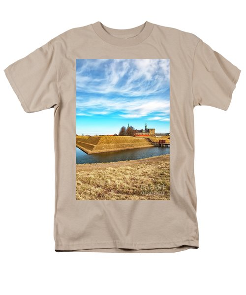 Men's T-Shirt  (Regular Fit) featuring the photograph Kronborg Castle In Helsingor by Antony McAulay