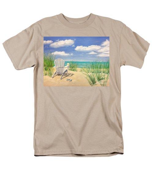 Life Is A Beach Men's T-Shirt  (Regular Fit) by Diane Diederich