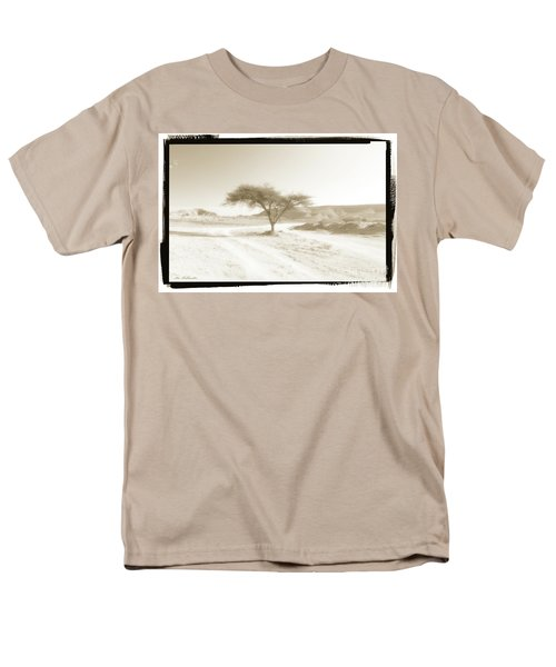 Lonely Tree Men's T-Shirt  (Regular Fit) by Arik Baltinester