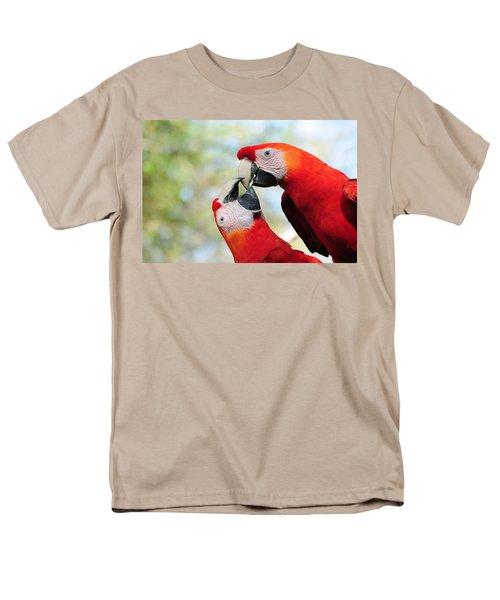 Macaws Men's T-Shirt  (Regular Fit) by Steven Sparks