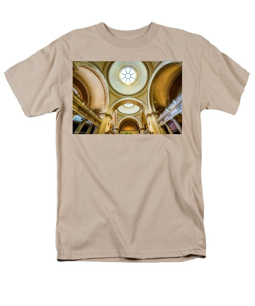 Men's T-Shirt  (Regular Fit) featuring the photograph Metropolitan Museum Of New York by Marvin Spates