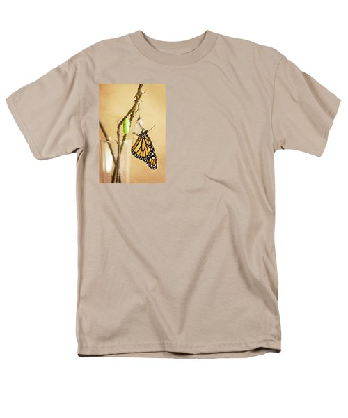 Monarch Butterflies Men's T-Shirt  (Regular Fit) by Rich Franco