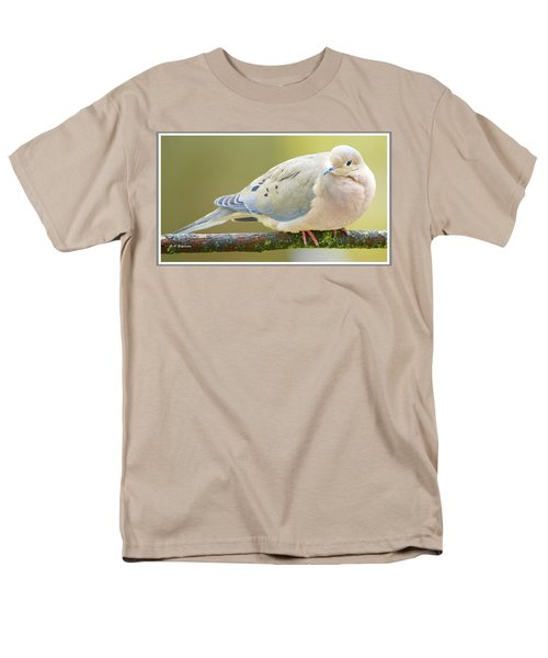 Mourning Dove On Tree Branch Men's T-Shirt  (Regular Fit) by A Gurmankin