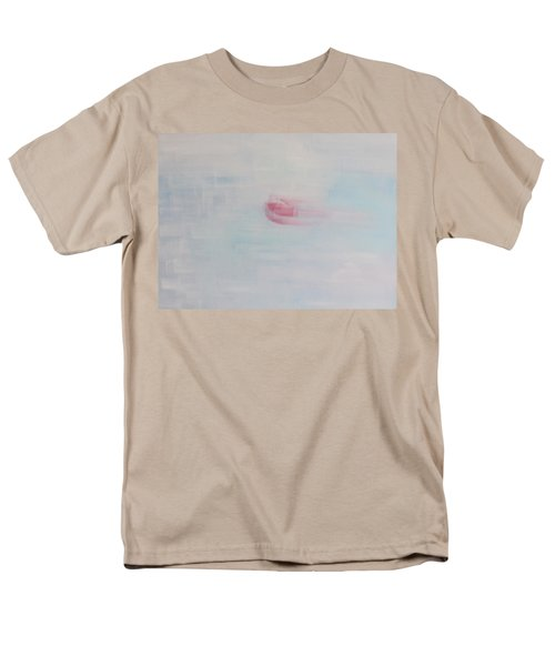 Men's T-Shirt  (Regular Fit) featuring the painting Letting Things Take Their Own Course by Min Zou