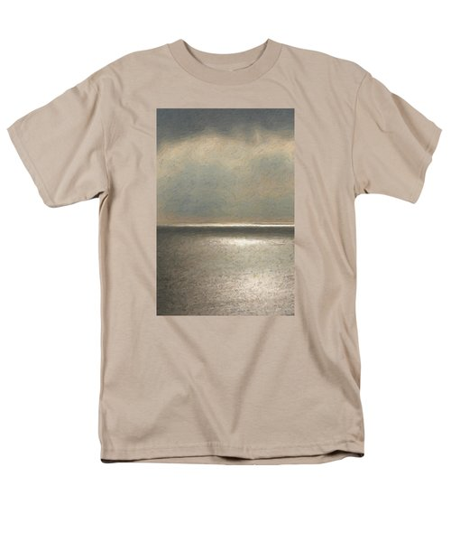 Not Quite Rothko - Twilight Silver Men's T-Shirt  (Regular Fit) by Serge Averbukh