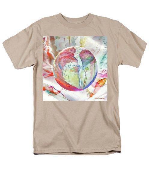 Men's T-Shirt  (Regular Fit) featuring the digital art Orbiental Expression by Robin Moline