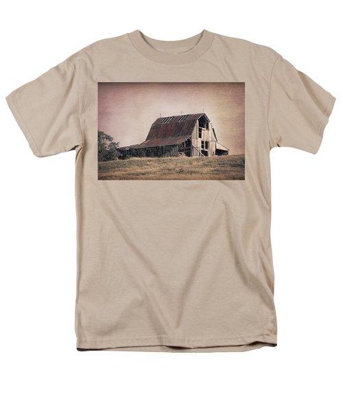 Men's T-Shirt  (Regular Fit) featuring the photograph Rustic Barn by Tom Mc Nemar