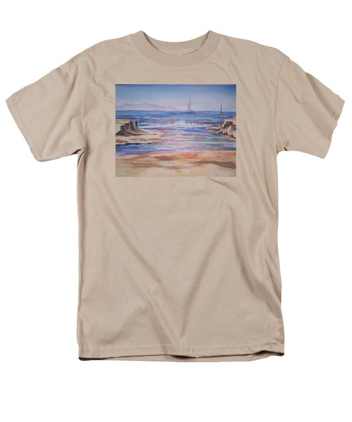 Santa Cruz Men's T-Shirt  (Regular Fit) by Becky Chappell