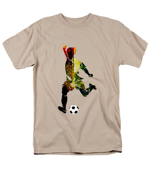 Soccer Collection Men's T-Shirt  (Regular Fit) by Marvin Blaine