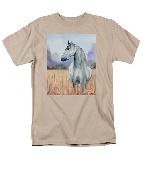 Men's T-Shirt  (Regular Fit) featuring the painting Solemn Spirit by Stacey Zimmerman