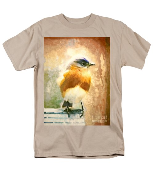 Strapping Bluebird Men's T-Shirt  (Regular Fit) by Tina LeCour