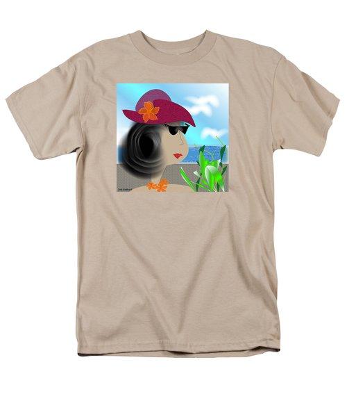 Summer,  I'm Ready Men's T-Shirt  (Regular Fit) by Iris Gelbart