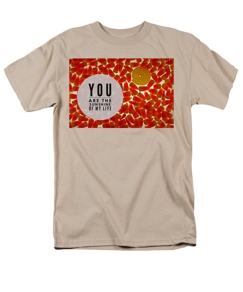 Men's T-Shirt  (Regular Fit) featuring the photograph Sunshine by Bobby Villapando