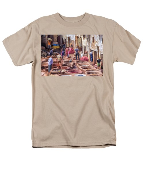 Tannery In Fez Men's T-Shirt  (Regular Fit) by Patricia Hofmeester
