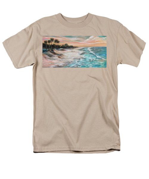 Tropical Shore Men's T-Shirt  (Regular Fit)