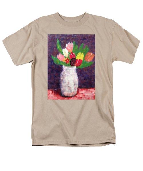 Tulips Men's T-Shirt  (Regular Fit) by Tamara Savchenko