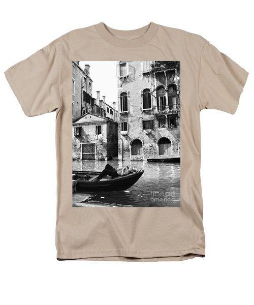 Men's T-Shirt  (Regular Fit) featuring the photograph Venice Canal, 1969 by Granger