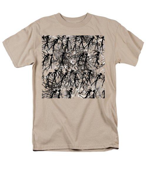 Warriors - Primitive Art Men's T-Shirt  (Regular Fit) by Michal Boubin