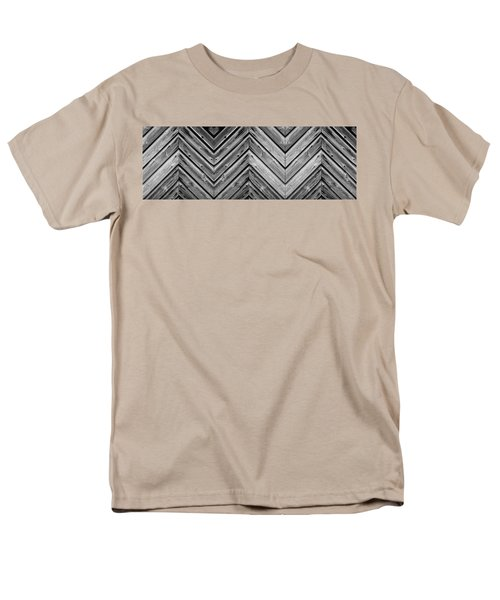 Men's T-Shirt  (Regular Fit) featuring the photograph Weathered Wood by Larry Carr