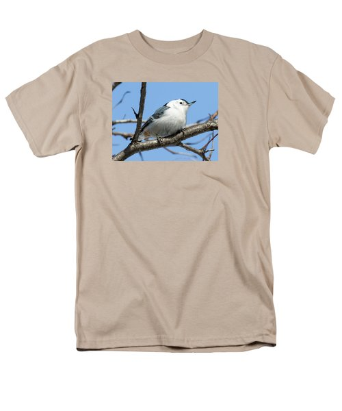 White-breasted Nuthatch Men's T-Shirt  (Regular Fit) by Ricky L Jones
