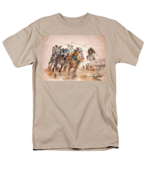 American  Pharaoh  Album  Men's T-Shirt  (Regular Fit) by Debbi Saccomanno Chan