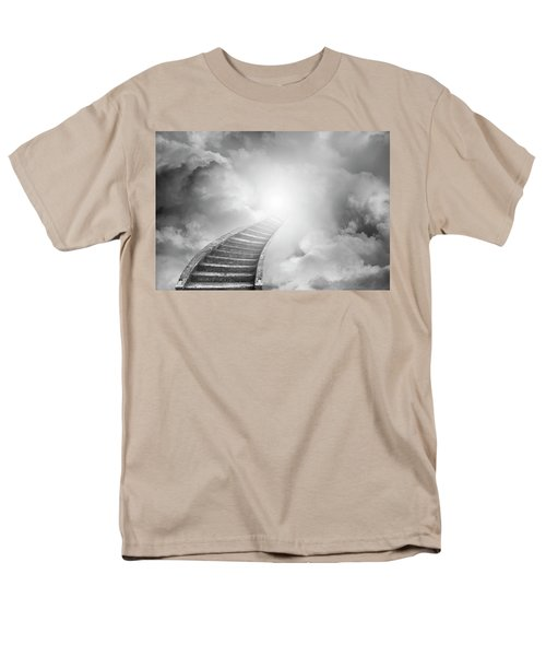 Men's T-Shirt  (Regular Fit) featuring the photograph Stairway To Heaven by Les Cunliffe