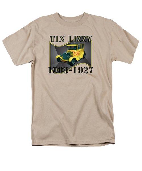 Men's T-Shirt  (Regular Fit) featuring the digital art 1927 Ford Model T by Richard Farrington