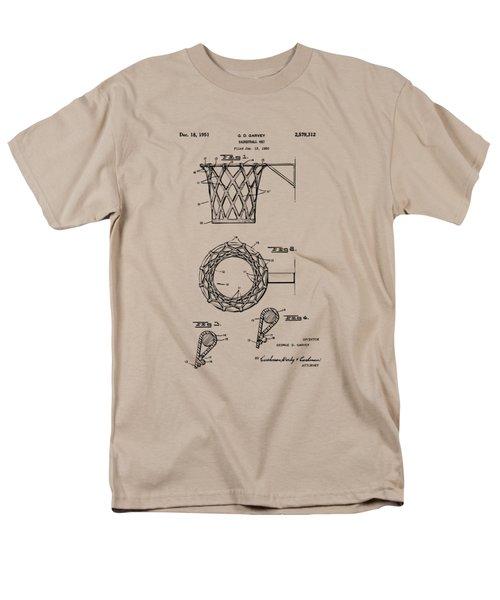 1951 Basketball Net Patent Artwork - Vintage Men's T-Shirt  (Regular Fit)