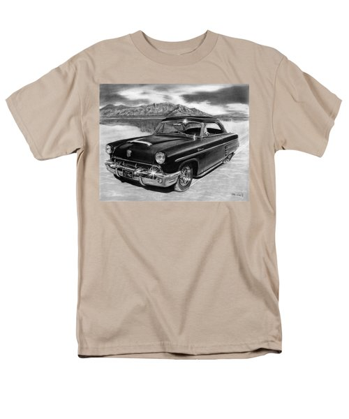 1953 Mercury Monterey On Bonneville Men's T-Shirt  (Regular Fit) by Peter Piatt