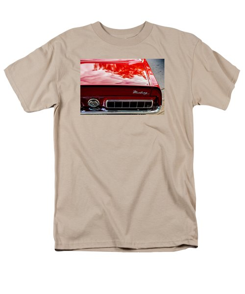 Men's T-Shirt  (Regular Fit) featuring the photograph 1967 Mustang by M G Whittingham