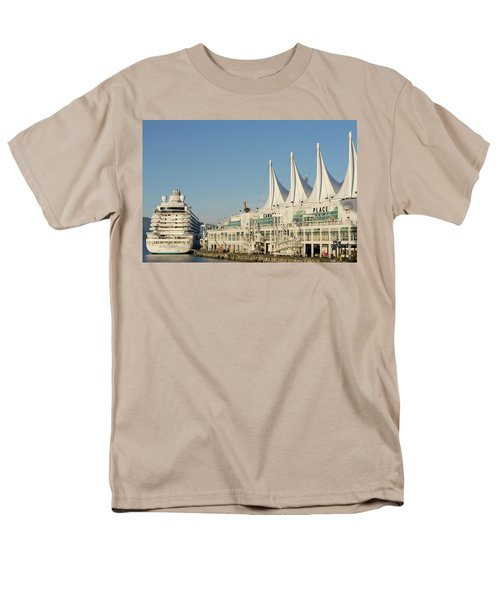 Canada Place Men's T-Shirt  (Regular Fit) by Ross G Strachan