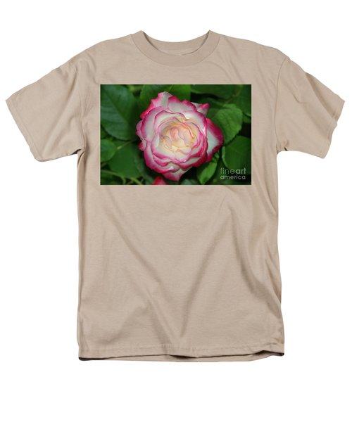Cherry Parfait Rose Men's T-Shirt  (Regular Fit) by Glenn Franco Simmons