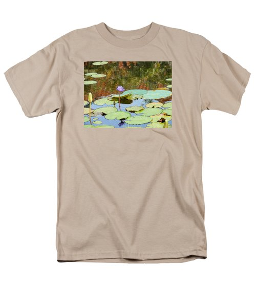 Lily Pond Men's T-Shirt  (Regular Fit) by Kay Gilley