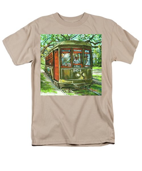 Men's T-Shirt  (Regular Fit) featuring the painting St. Charles No. 904 by Dianne Parks