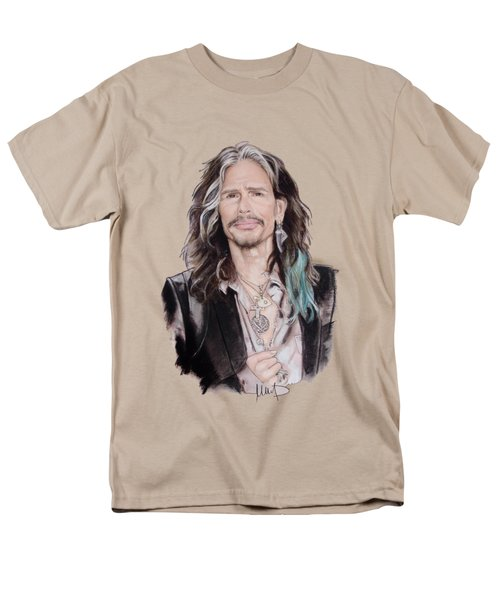 Steven Tyler  Men's T-Shirt  (Regular Fit) by Melanie D
