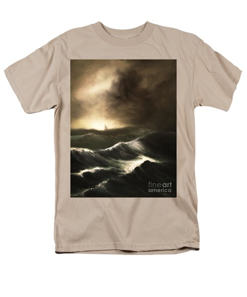 Men's T-Shirt  (Regular Fit) featuring the painting Untitled by Stephen Roberson