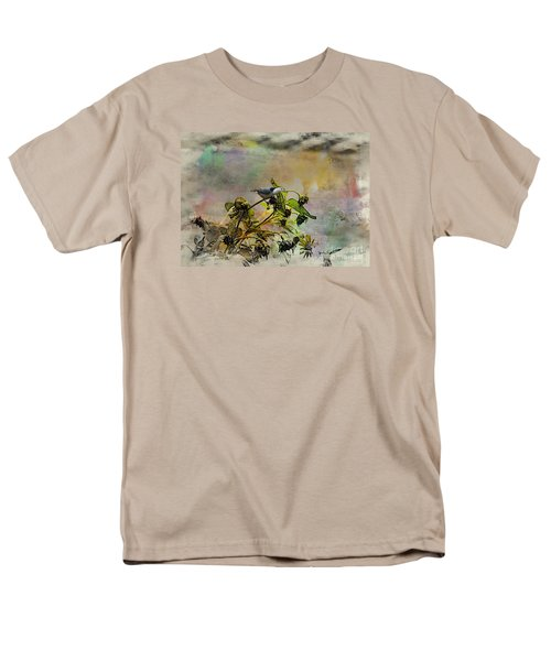 White Breasted Nuthatch Men's T-Shirt  (Regular Fit)