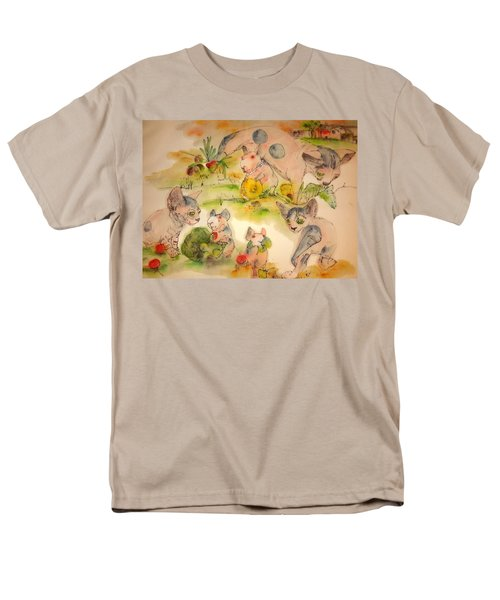 World Of Guinea Pigs And Naked Cats Album Men's T-Shirt  (Regular Fit) by Debbi Saccomanno Chan