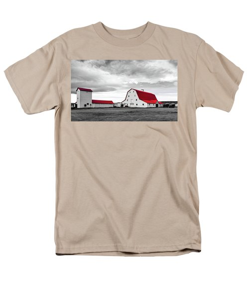 Wyoming Ranch Men's T-Shirt  (Regular Fit) by L O C