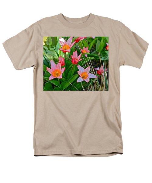 2016 Acewood Tulips 2 Men's T-Shirt  (Regular Fit) by Janis Nussbaum Senungetuk