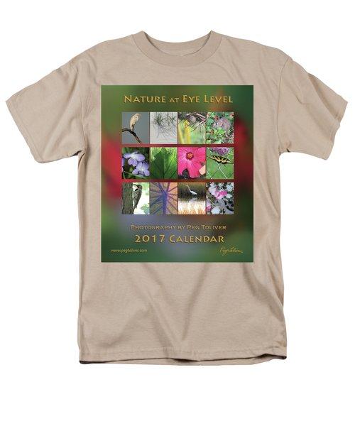 Men's T-Shirt  (Regular Fit) featuring the photograph 2017 Nature Calendar by Peg Toliver