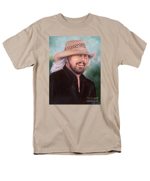 Barry Gibb Men's T-Shirt  (Regular Fit) by Patrice Torrillo