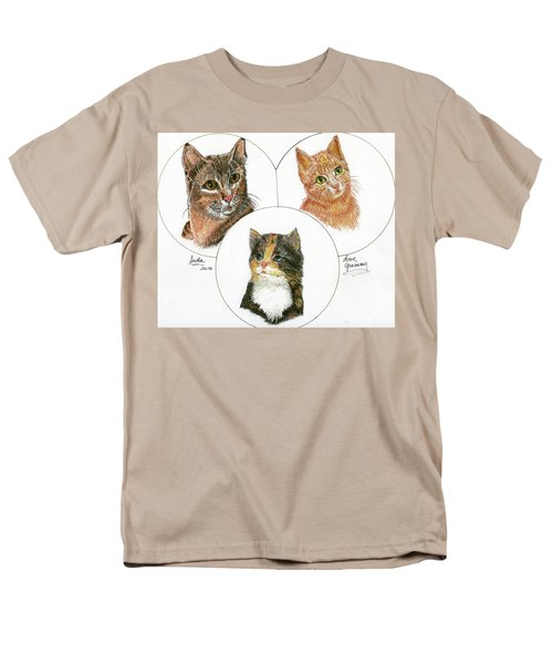 3 Cats For Juda Men's T-Shirt  (Regular Fit) by Bill Hubbard