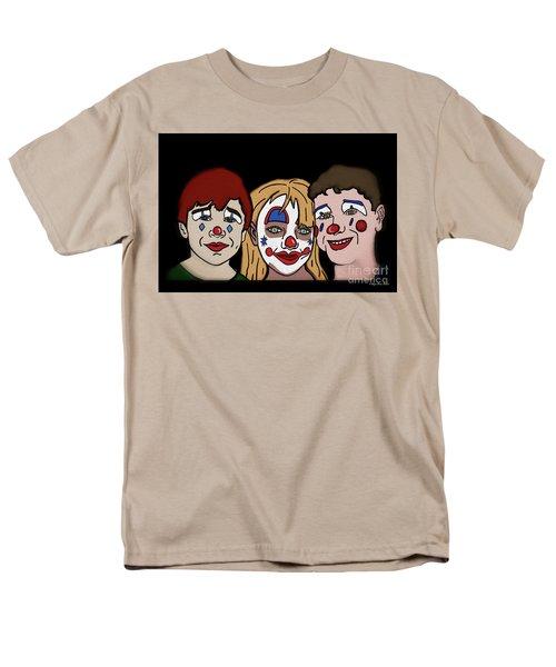 3 Jesters Men's T-Shirt  (Regular Fit) by Megan Dirsa-DuBois